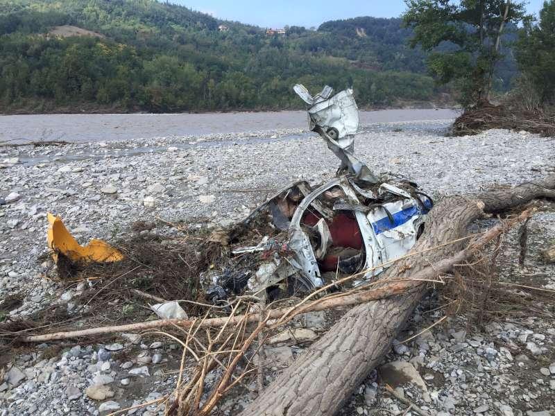 Riva di Pontedellolio, l'auto ritrovata