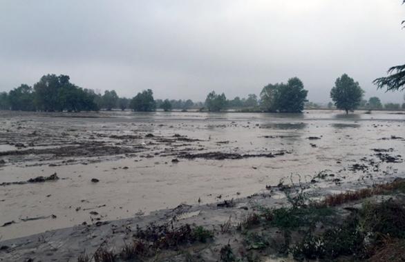 Alluvione 2015 - Nure a Pontenure