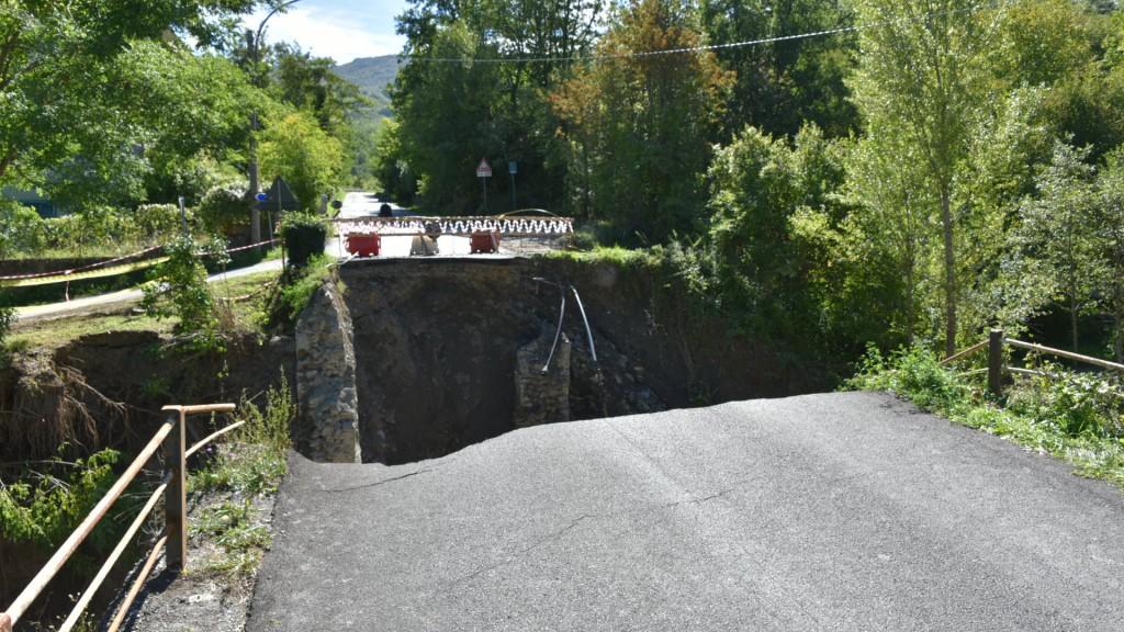 Alluvione 2015 - Selva Ponte crollato