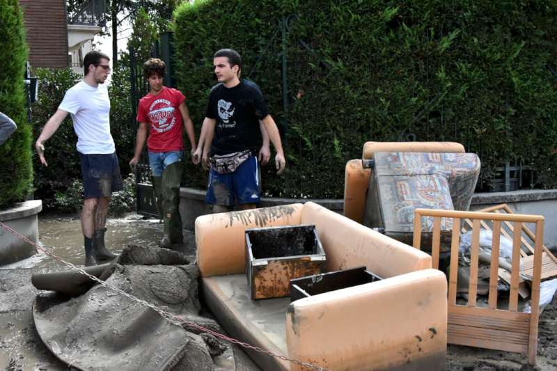 alluvione a Roncaglia