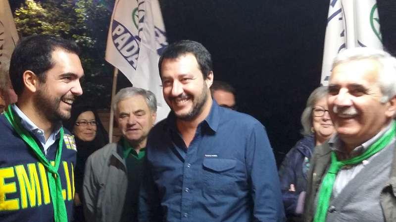 Doppia festa della Zucca: a Ziano c'è Salvini, Bossi a Pecorara