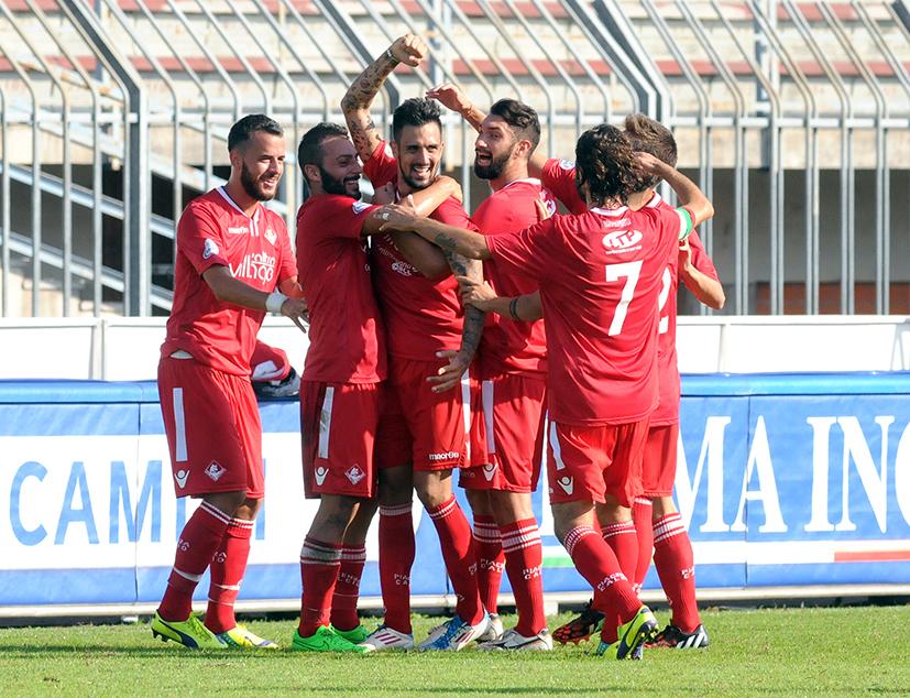 Piacenza Calcio Olginatese per P.Gentilotti (FotoDELPAPA) TAUGOURDEAU esultanza