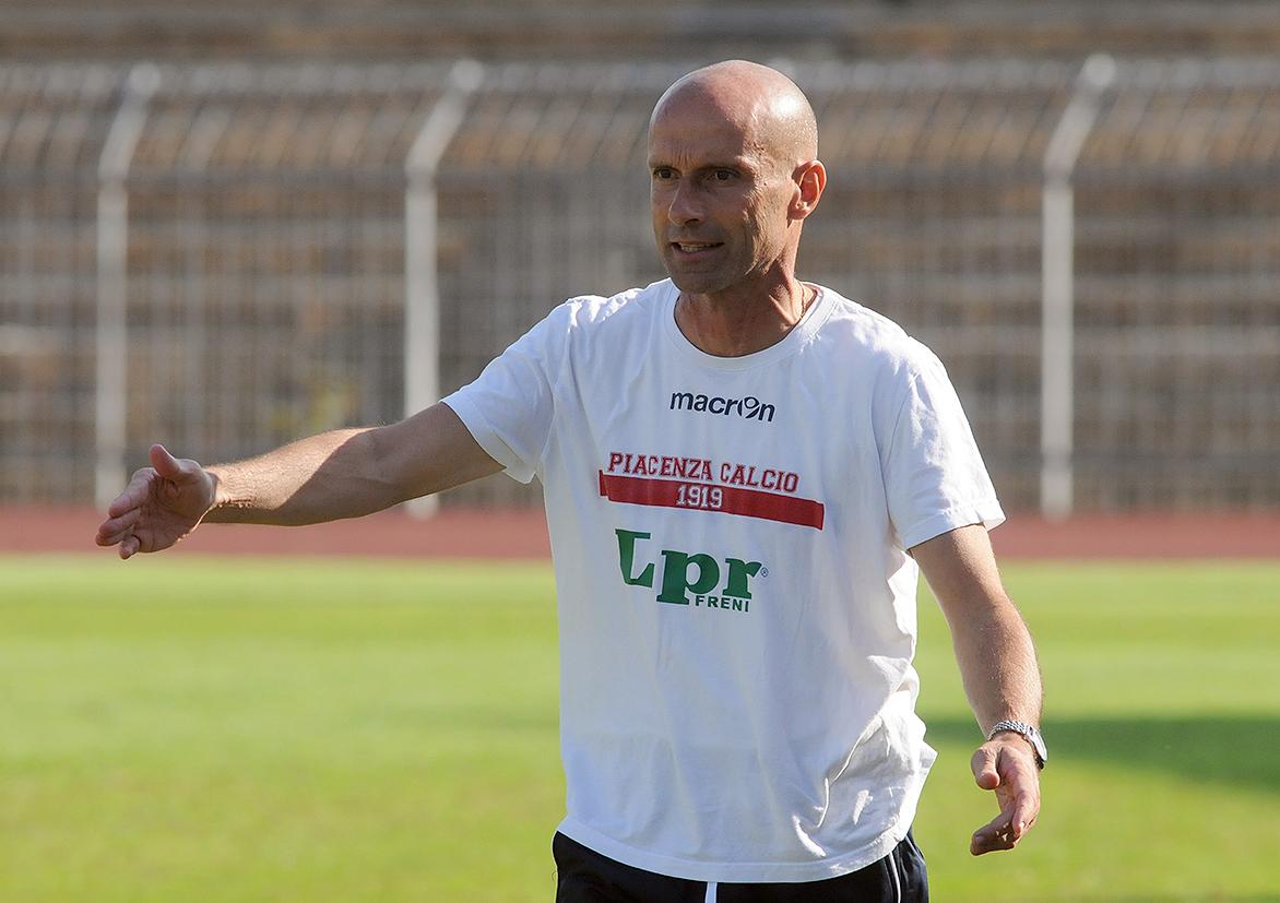 Piacenza, mister Franzini prolunga il contratto fino al 2019