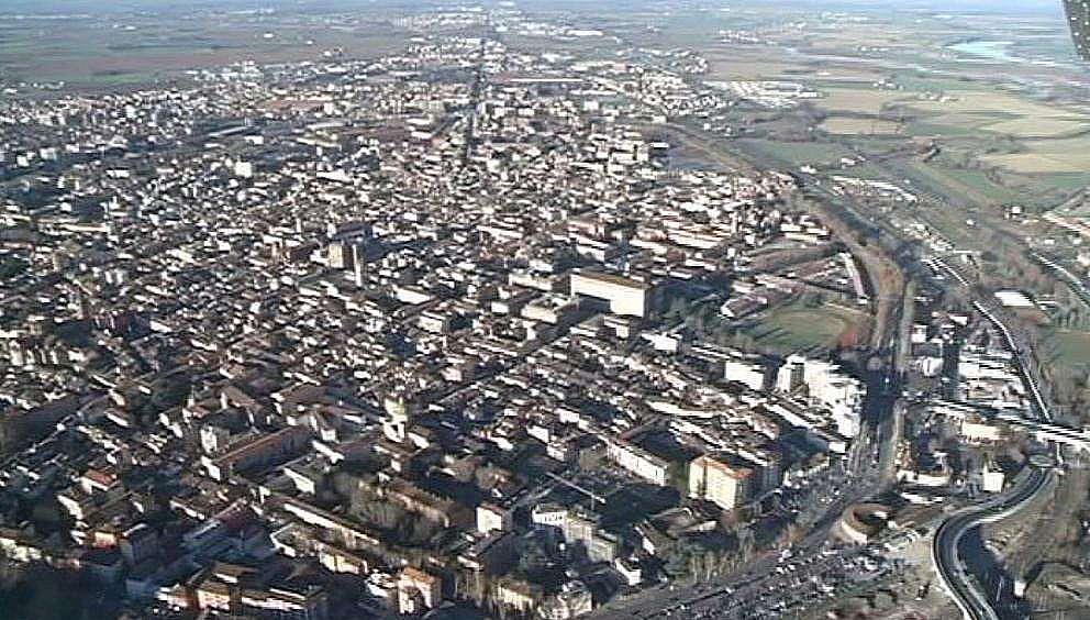 Piacenza aerea, aree industriali (1)