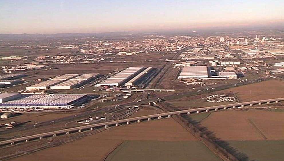 Piacenza aerea, aree industriali (5)