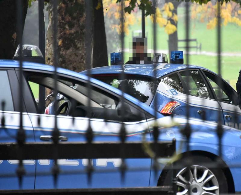 Polizia ai giardini Margherita (3)-800