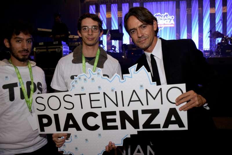 "Palabanca gremito per ""Sosteniamo Piacenza"". Inzaghi testimonial"