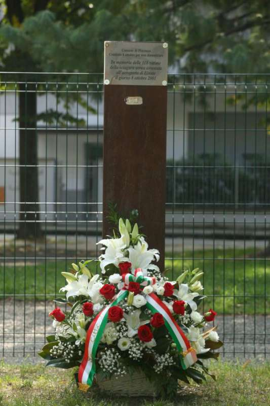 Tragedia aerea di Linate, un dolore che Piacenza non dimentica