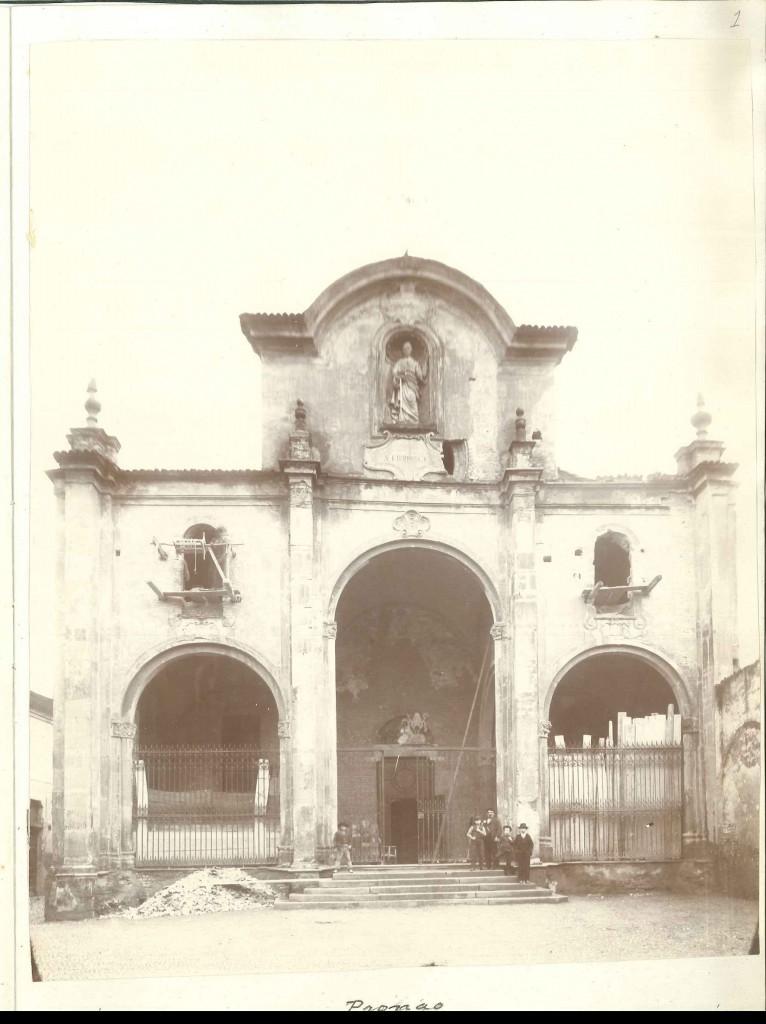 facciata settecentesca prima dei restauri (1904)