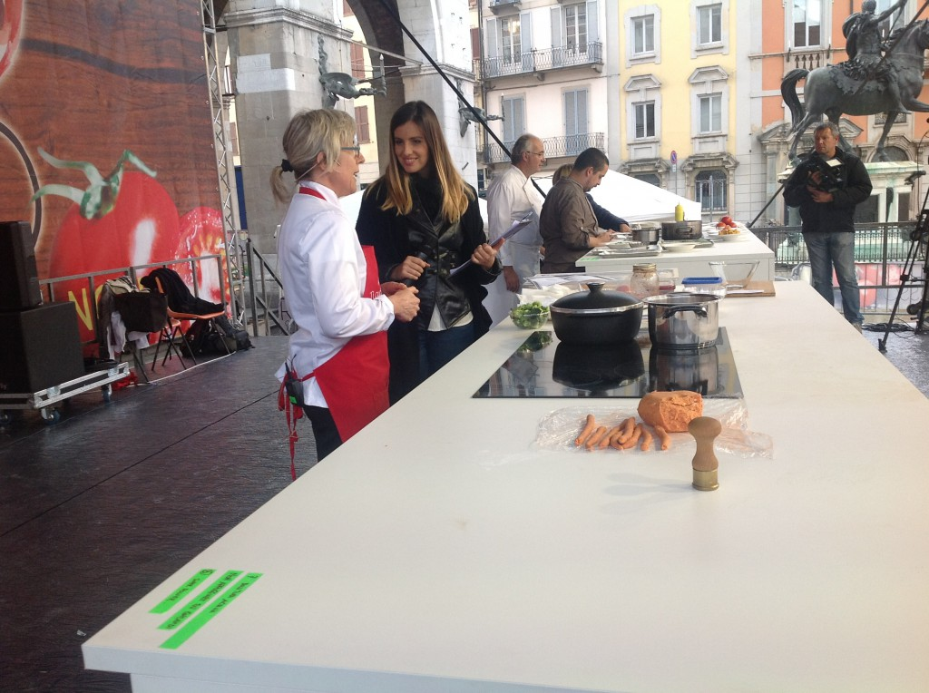 oro rosso - showcooking