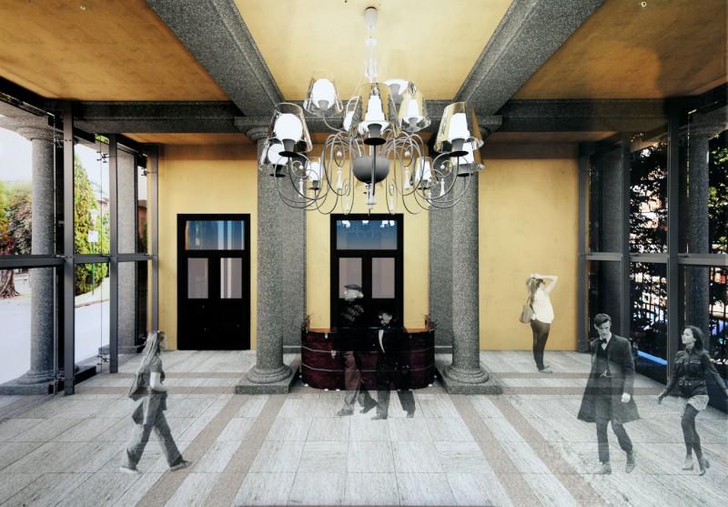 Ospedale di Piacenza, nuovo atrio