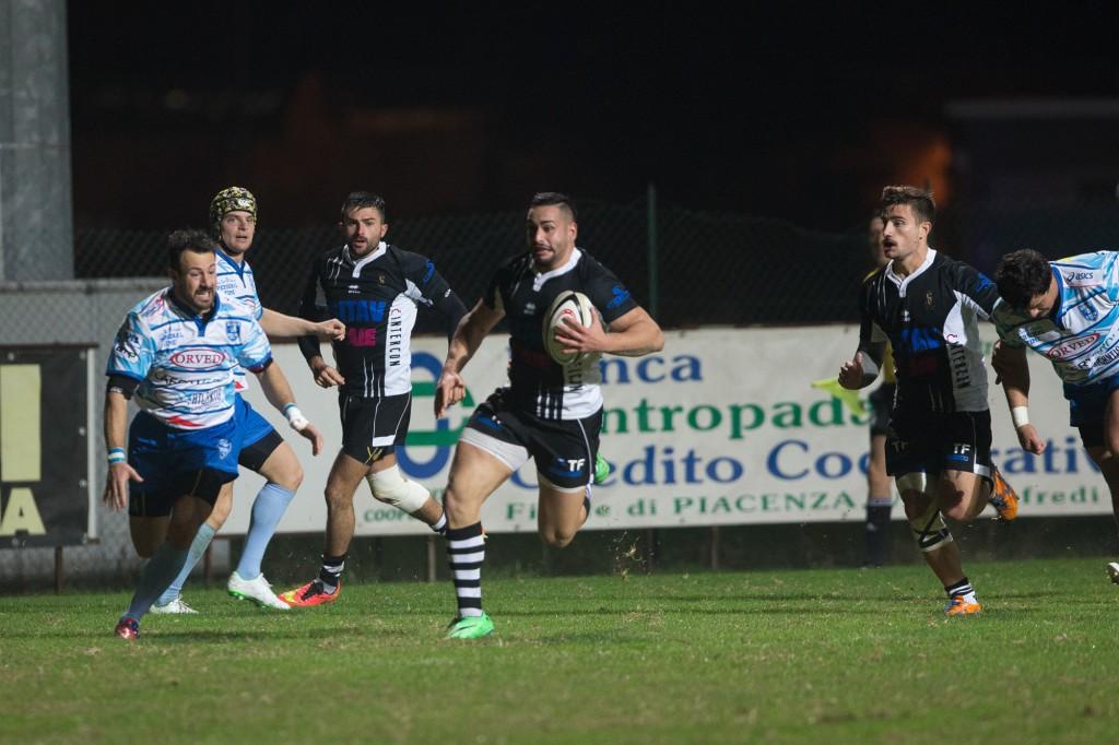 Rugby Lyons vs San Donà - meta di Forte (danani) petrarelli.a