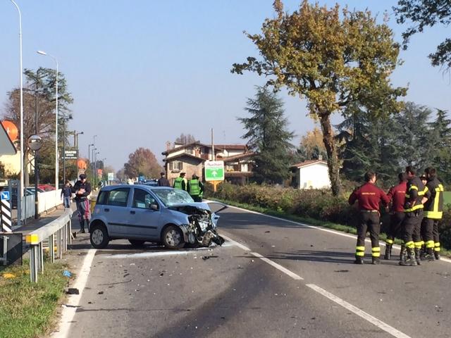 incidente strada agazzana - Gossolengo