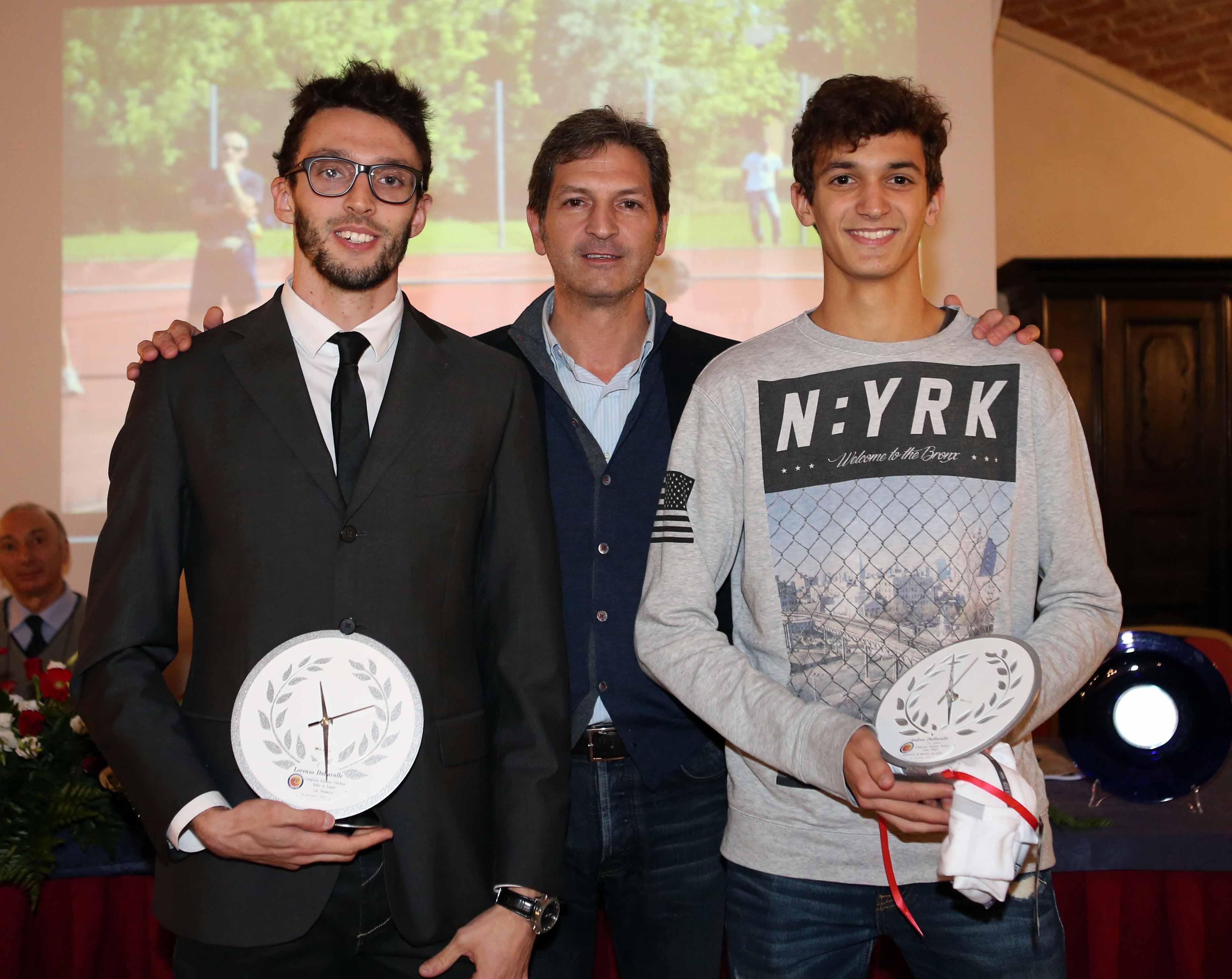 L&#8217;atletica Piacenza compie 40 anni. <br>Premiati i fratelli Dallavalle