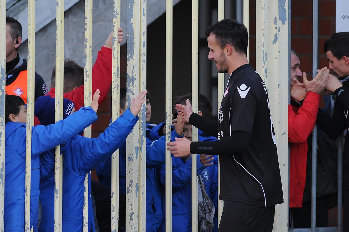 Piacenza Calcio Caravaggio per P.Gentilotti (FotoDELPAPA) Silva saluta i fans