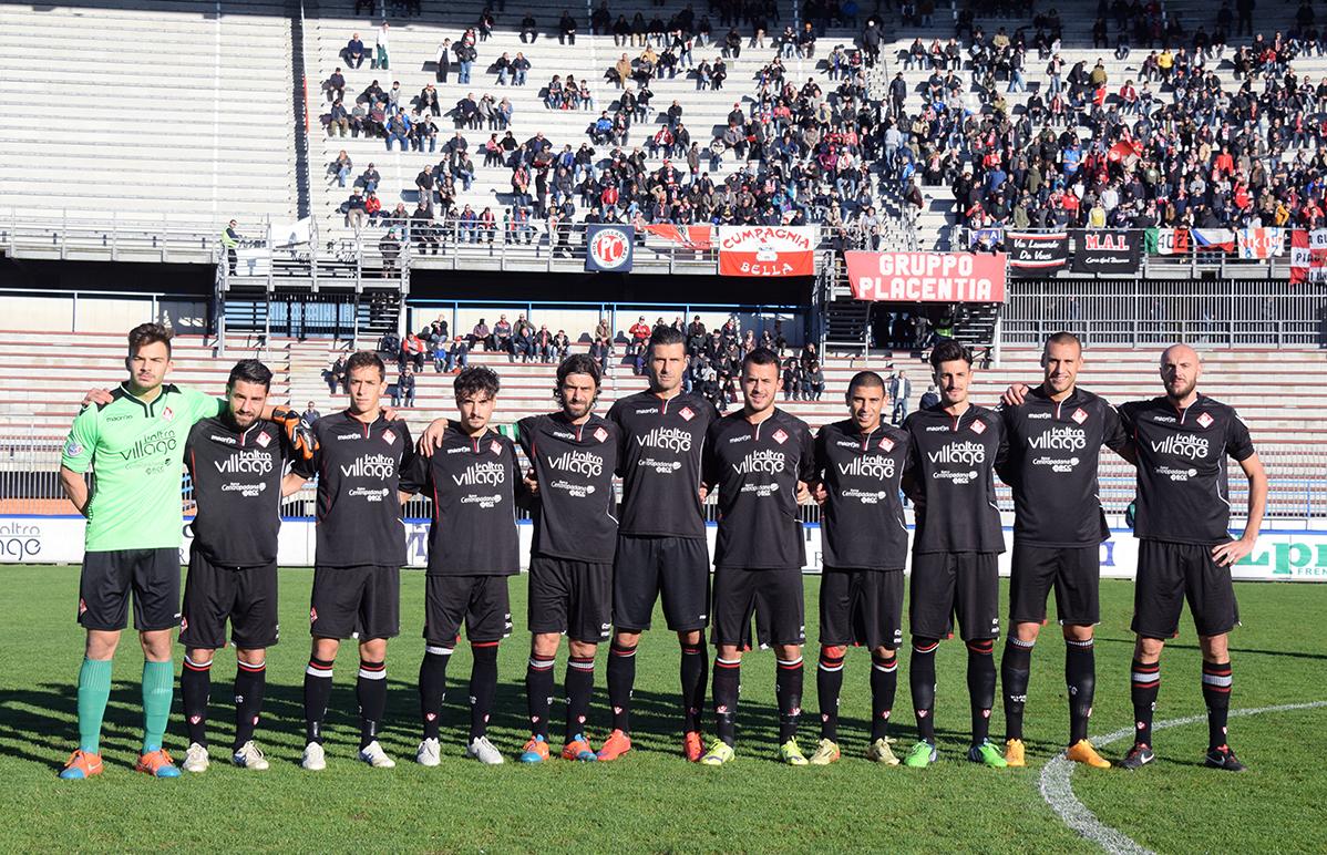 Piacenza Calcio Caravaggio per P.Gentilotti (FotoDELPAPA) formazione