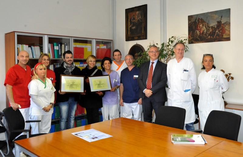 Oncologia: la tecnica infermieristica piacentina premiata a Roma