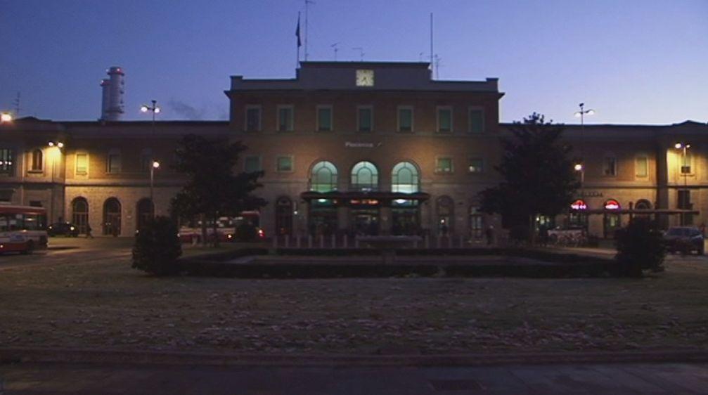 Stazione di sera