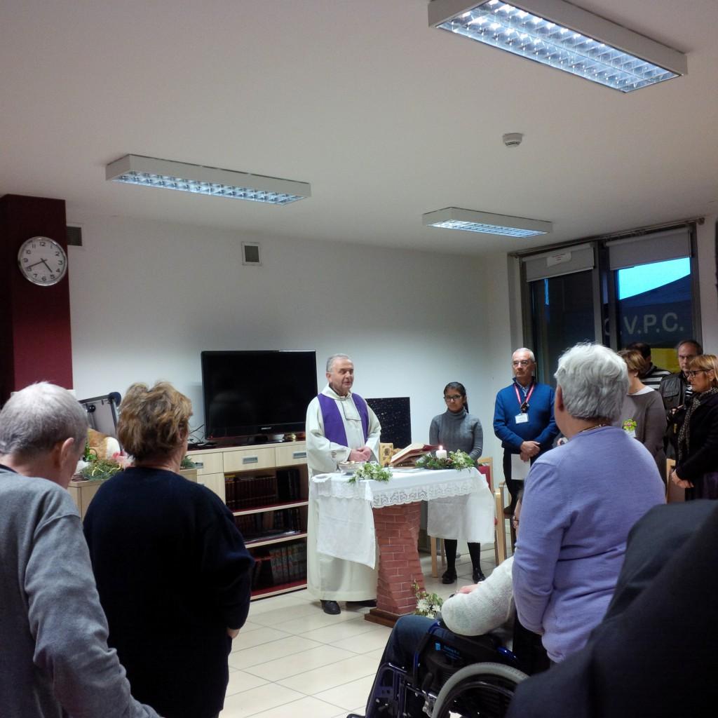 Messa all'Hospice di Piacenza