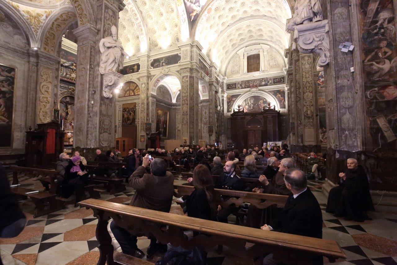 Nuovo impianto di illuminazione della Basilica S.Maria di Campagna. Foto