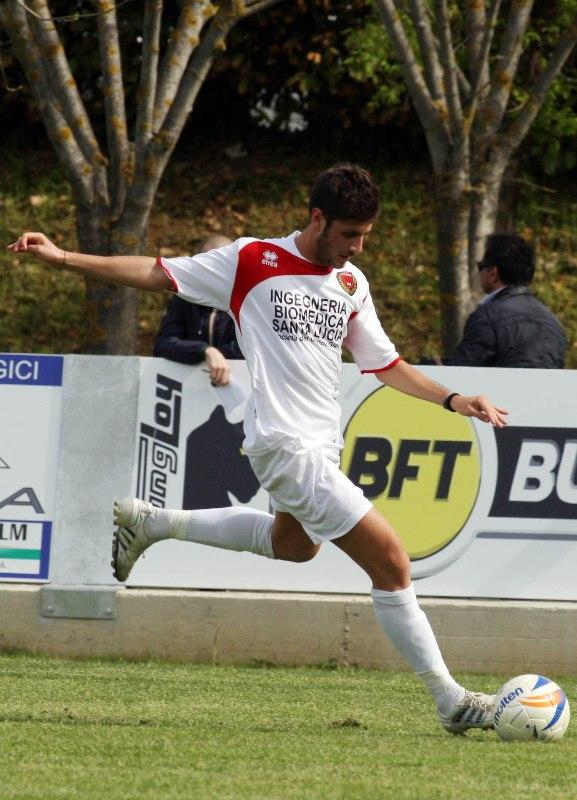 Mattia Musi ai tempi del Pro Piacenza