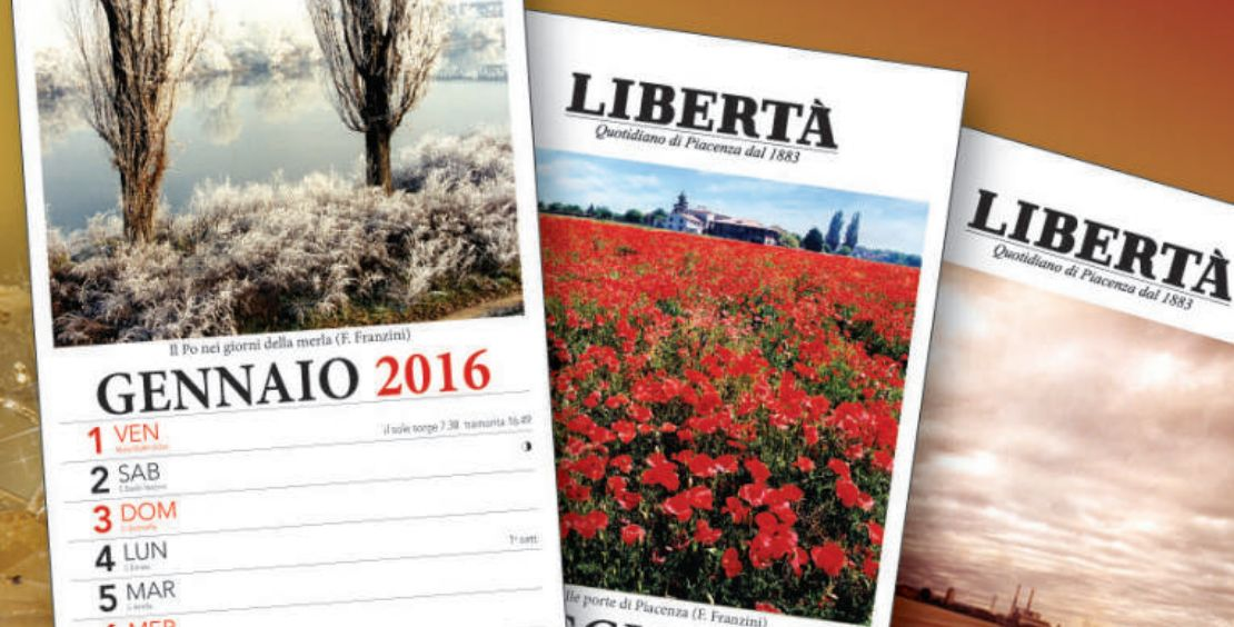 Calendario 2016, sabato con Libertà 12 scatti firmati Franco Franzini