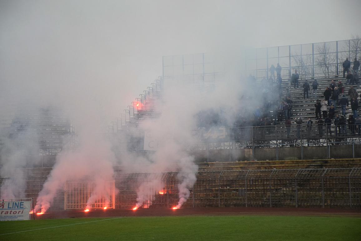 Piacenza Calcio Lecco per P.Gentilotti (FotoDELPAPA) tifoseria Lecco