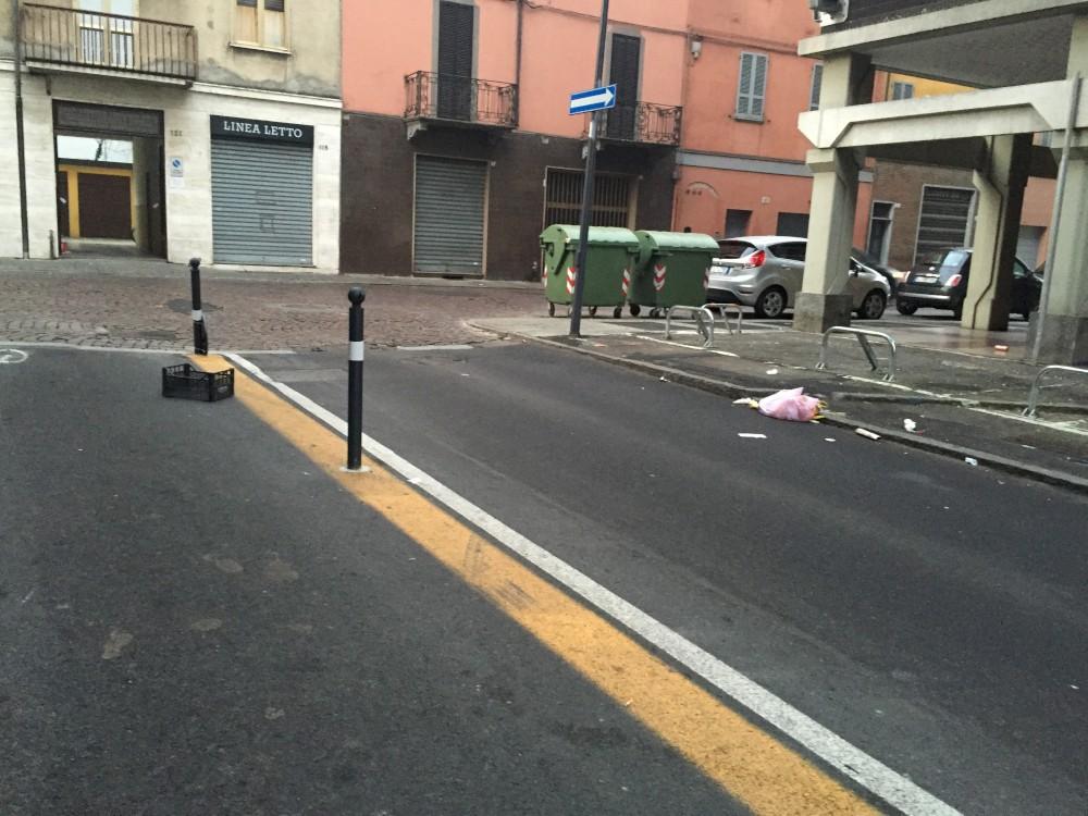 """Via Torricella: """"Riqualificata, ma la pulizia e la legalità?"""""""