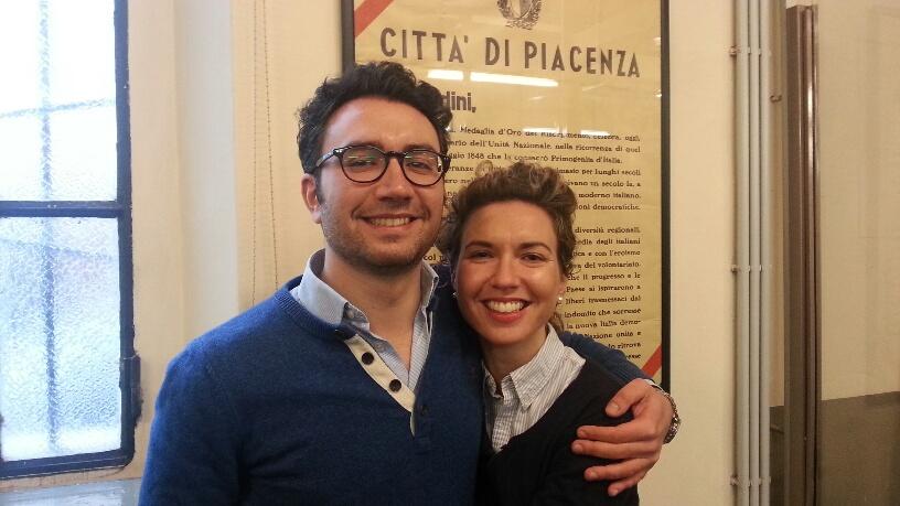 Gaia e Massimo Paradiso