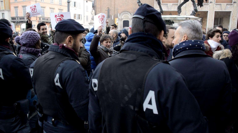 Protesta contro le unioni civili: le
