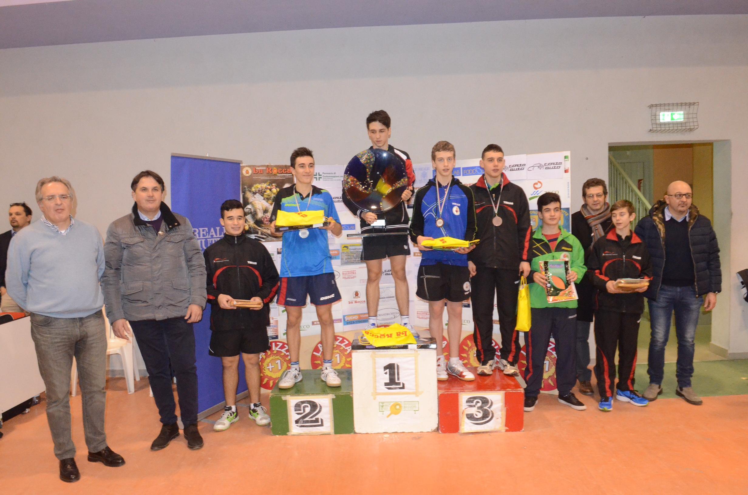 Successo per il Trofeo giovanile nazionale di tennistavolo. I risultati