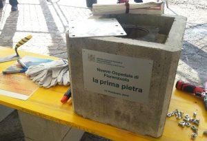 Ospedale di Fiorenzuola, con Bonaccini la posa della prima pietra