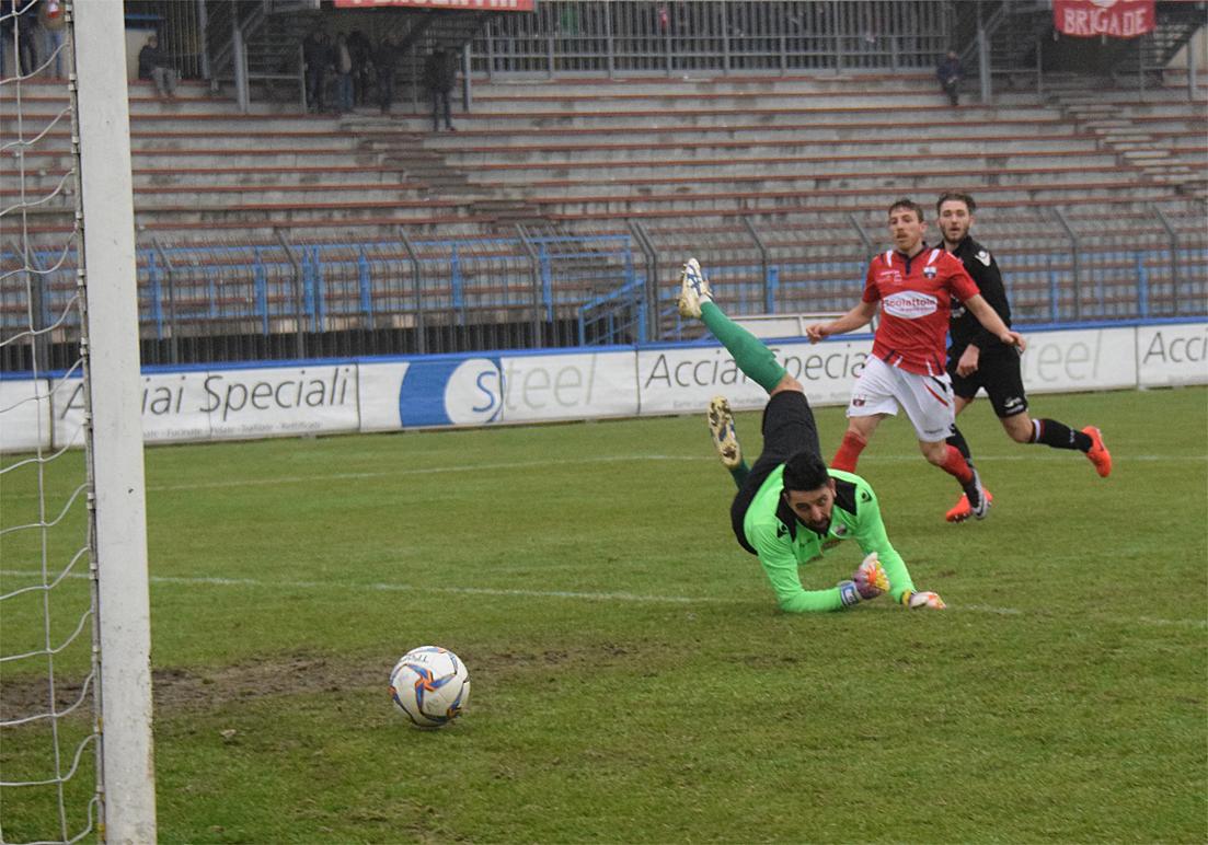 Piacenza Calcio Varesina per P.Gentilotti (FotoDELPAPA) gol di Galuppini