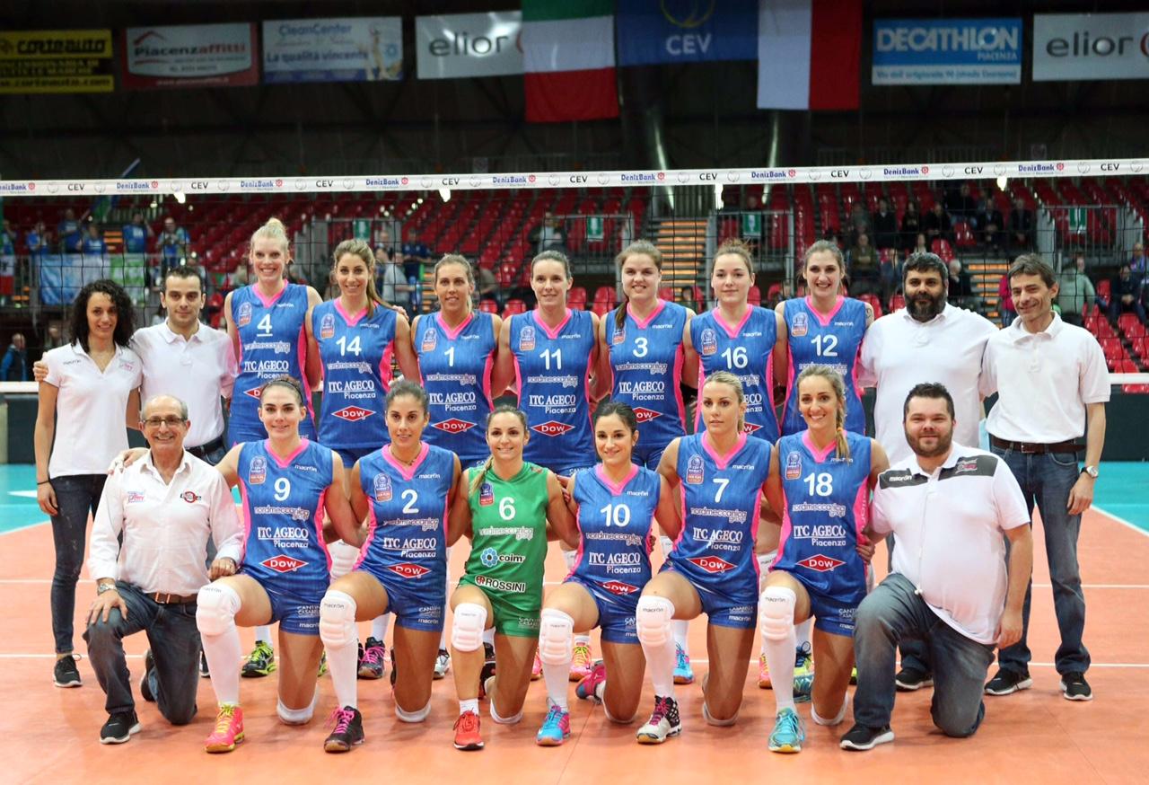 nordmeccanica Piacenza -  sopot volley        (FOTO CAVALLI )
