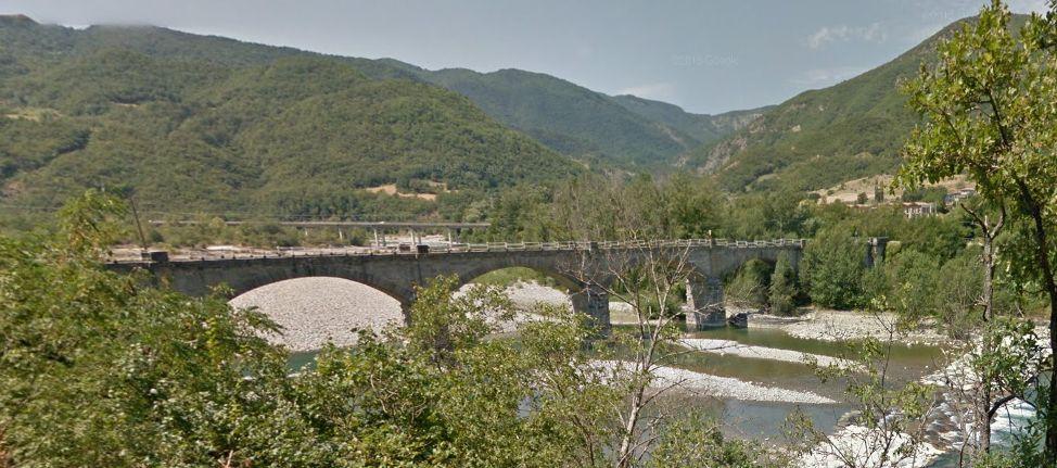 Bobbio, ponte per Coli (1)