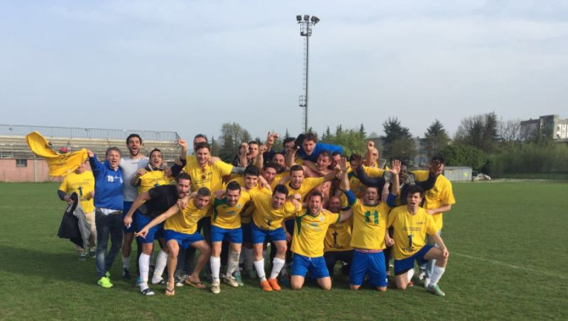 L'Alsenese festeggia la promozione in Prima Categoria