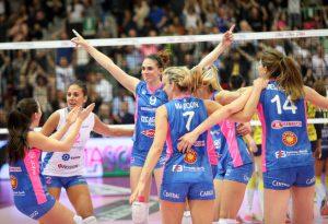 Nordmeccanica Volley risorge e porta la finale scudetto a gara 4