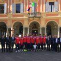 Il Piacenza Calcio in Municipio.<br />Dosi: &#8220;Orgogliosi di voi&#8221;