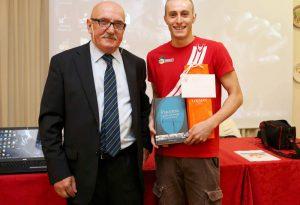 Festa alla Vittorino per Giacomo Carini: <br>&#8220;Il nostro primo nuotatore iridato&#8221;