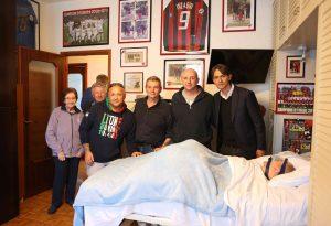 Panchina in vista per Pippo Inzaghi, prima un saluto al suo tifoso numero uno