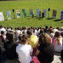 Bambini ridisegnano il futuro del parco giochi nell'ex Pertite con i loro diritti