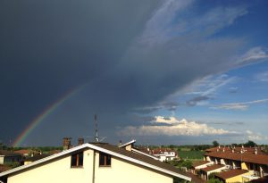 Il caldo allenta la morsa: pioggia in Valnure, temporale in Valtidone