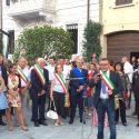Rivergaro, in tanti all'inaugurazione della nuova piazza Paolo