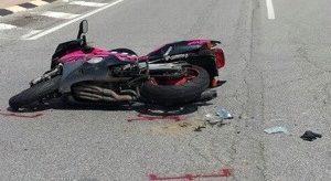 Bobbio, motociclista ferito sulla Statale 45, arriva l'eliambulanza da Parma