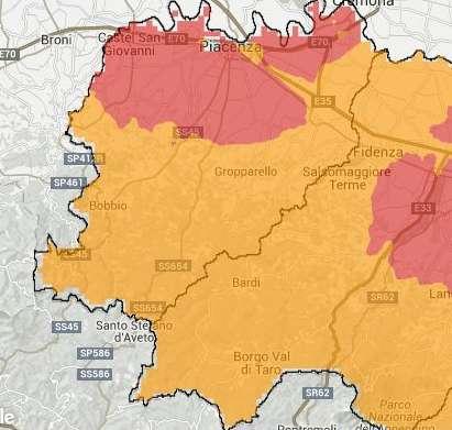 Critica la situazione di Piacenza. A Montecucco 33 giorni di sforamento