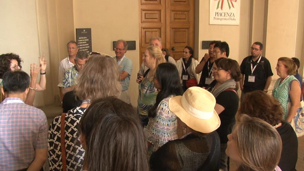 Direttori musei in visita a Palazzo Farnese