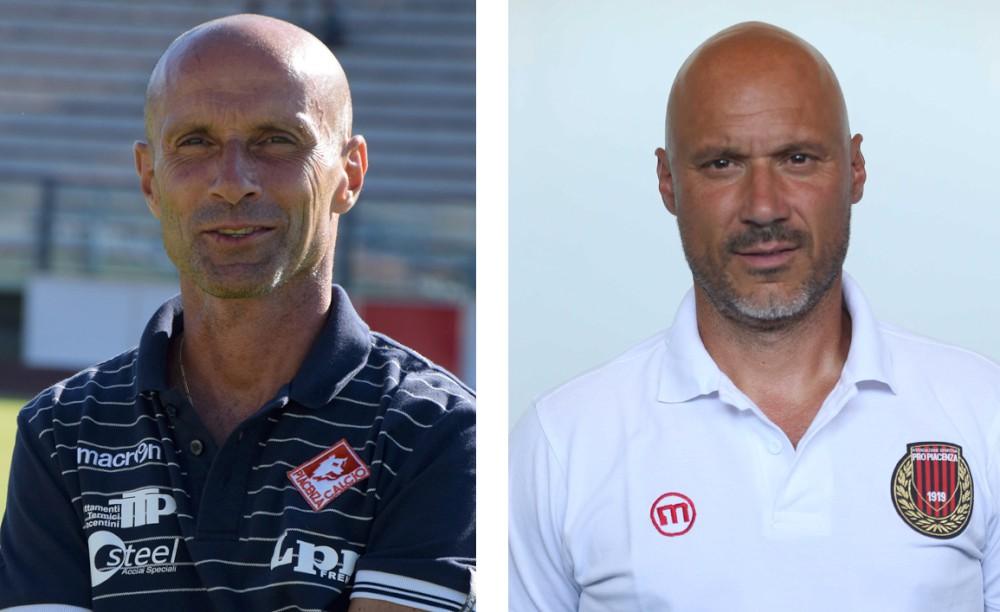 Piacentine: biancorossi con Monza, rossoneri a Gorgonzola