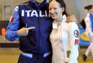 Scherma, Margherita Libelli vola oltreoceano per gareggiare con gli Stati Uniti