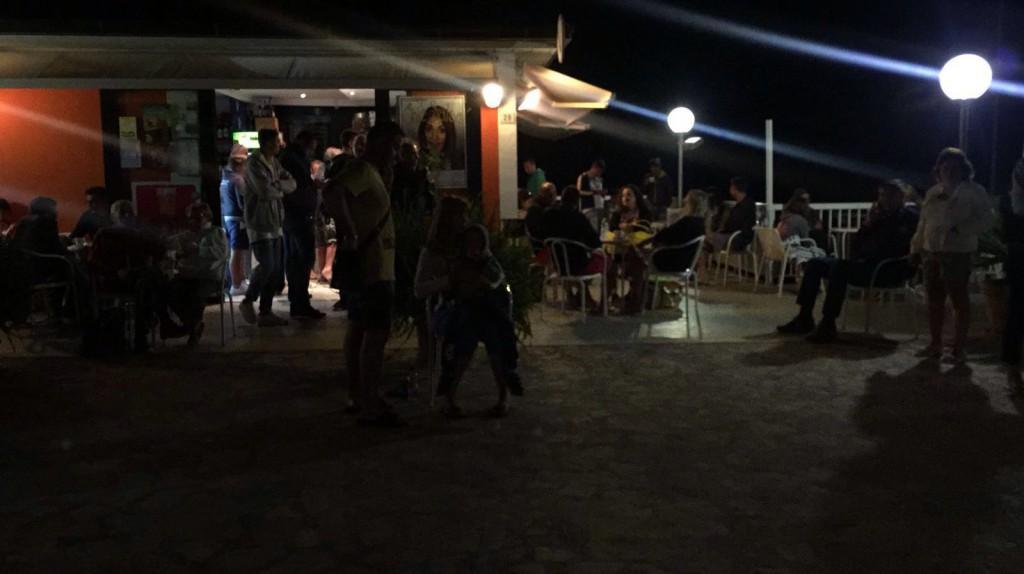 La notte sul lungomare a San Benedetto del Tronto