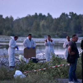 Trovato cadavere chiuso in un sacco e gettato dal ponte di Tuna FOTO